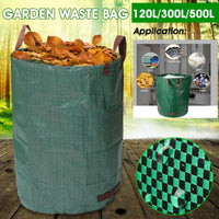 120L/300L/500L Large Capacity Heavy Duty Garden Waste Bag Durable Reusable Waterproof PP Yard Leaf Weeds Grass Container Storage - The most popular products on Tiktok | GOWOW