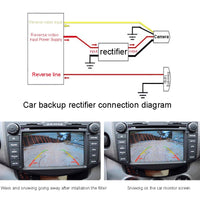 12V Car Backup Camera Relay Regulator Solve Rear View Camera Ripple Splash Screen Interference Relay Filter - The most popular products on Tiktok | GOWOW