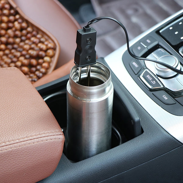12V New Portable Safe Car Immersion Heater Quickly Auto Electric Tea Coffee Water Heater Portable Drink Boiler travel light - The most popular products on Tiktok | GOWOW