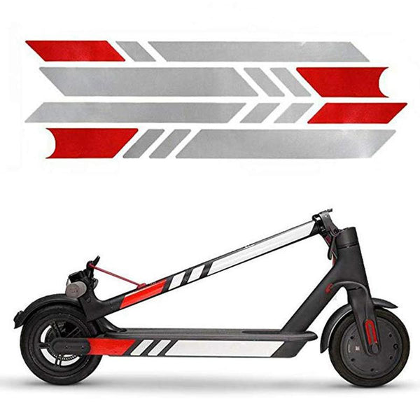 13 Colors High Quality Reflective Styling Stickers For Xiaomi Mijia M365 Electric Scooter Skateboard Accessories - The most popular products on Tiktok | GOWOW