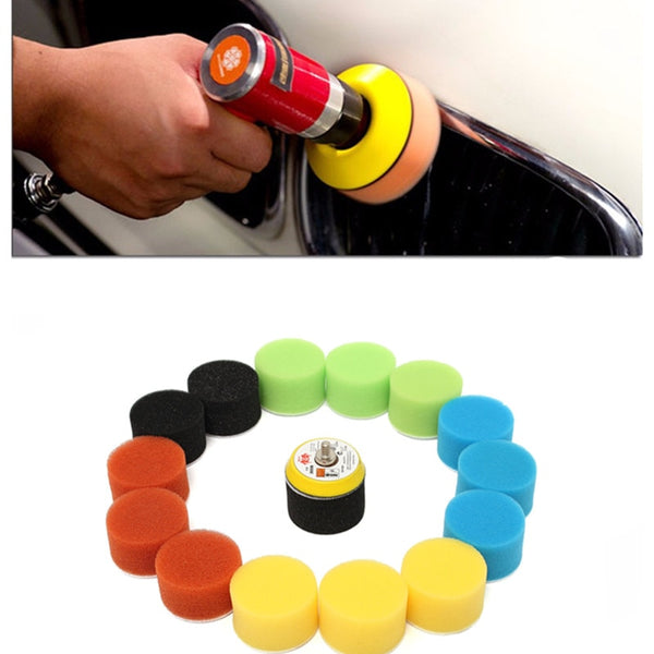 16Pcs/Set Polishing Pad For Car Polisher 2 Inch 50mm Polishing Circle Buffing Pad Tool Kit For Car Polisher Wax Pulidora Auto - The most popular products on Tiktok | GOWOW