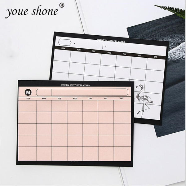 1PCS =30SHEET  simple weekly planner book desktop schedule month plan tear the notebook work efficiency summary plan - The most popular products on Tiktok | GOWOW