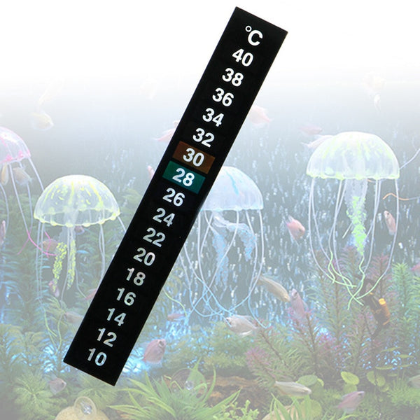 1Pcs Digital Aquarium Fish Tank Thermometer Temperature Sticker Dual Scale - The most popular products on Tiktok | GOWOW