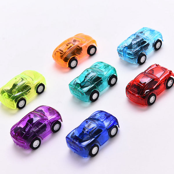 1pc Pull Back Mini vehicle Cartoon Car Kids Birthday Party Toys for Boys Funny Baby Kids Educational model Plastic toy gift - The most popular products on Tiktok | GOWOW