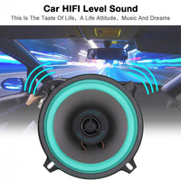 1pcs 5 Inch 100W Universal Car HiFi Coaxial Speaker Vehicle Door Auto Audio Music Stereo Full Range Frequency Speakers for Cars - The most popular products on Tiktok | GOWOW