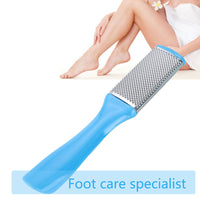 1pcs Professional Double Side Foot File Rasp Heel Grater Hard Dead Skin Callus Remover Pedicure File Foot Grater Random Color - The most popular products on Tiktok | GOWOW