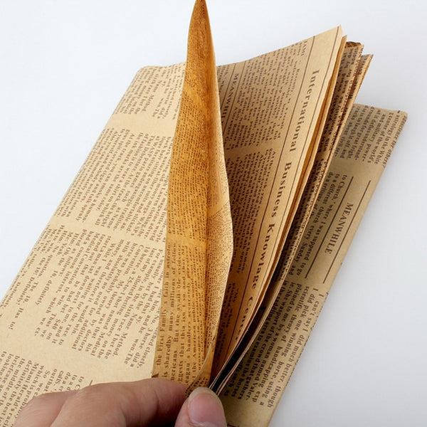 1pcs Vintage Newspaper Gift Wrapping Paper Artware Package Paper DIY Book Cover Kraft Paper Wrap Packing Accessories 52x75cm - The most popular products on Tiktok | GOWOW