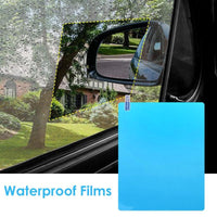 2/4pcs Car Rain Rearview Mirror Films Waterproof Anti-Fog Car Mirror Rain Cover Anti-rain Car Window Rain Protector Glass Film - The most popular products on Tiktok | GOWOW