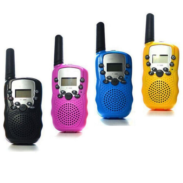2 Pcs/Set Children Toys 22 Channel Walkie Talkies Two Way Radio UHF Long Range Handheld Transceiver Kids Gift M09 - The most popular products on Tiktok | GOWOW