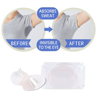 200pcs 100pairs Disposable Underarm Sweat Pads for Clothing Anti Sweat Armpit Absorbent Pads Summer Deodorants Shield Stickers - The most popular products on Tiktok | GOWOW