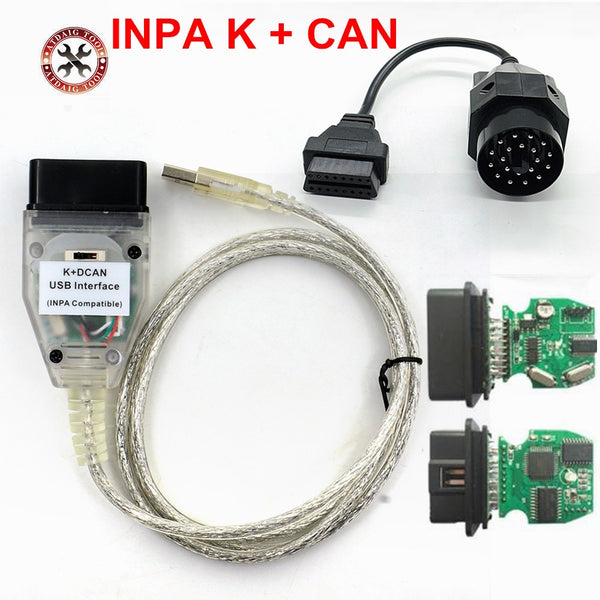 2018 VSTM For BMW INPA K+CAN K CAN INPA With FT232RL Chip with Switch for BMW INPA K DCAN USB Interface Cable With 20PIN for BMW - The most popular products on Tiktok | GOWOW