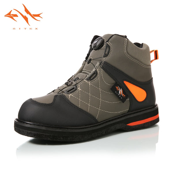 2018 sitex Men's Fishing Hunting Wading Shoes Breathable Waterproof Boot Outdoor Anti-slip Wading Waders Boots - The most popular products on Tiktok | GOWOW