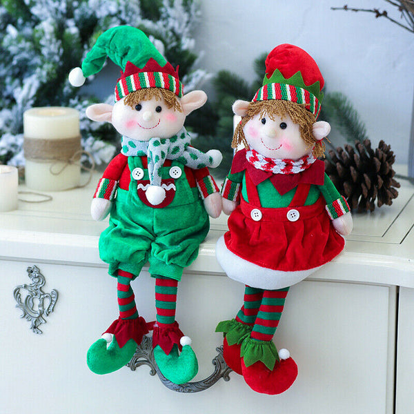 2019 Newest Hot Plush Elf Elves Dolls Toy Christmas Tree Ornaments New Year Gifts Xmas Decor Plush Wall Stuff - The most popular products on Tiktok | GOWOW