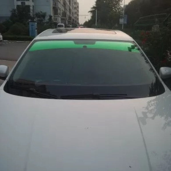 20x150cm Top Front Windshield Foil Solar Protection Gradient Black Car Tinting Film Sunshade For Driver Driving - The most popular products on Tiktok | GOWOW