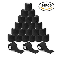 24Pcs Disposable Cohesive Tattoo Grip Cover Self-Adhesive Bandages Handle Grip Tube for Tattoo Machine Grip Accessories - The most popular products on Tiktok | GOWOW