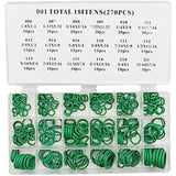 270 PCS Thermostability Rubber O Ring Assortment Kit O-Ring Seals Set Nitrile Rubber O-Ring Popular 18 Sizes With Case - The most popular products on Tiktok | GOWOW