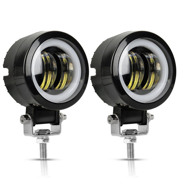 2PCS 3Inch 20W 12V 24V 6500K Waterproof Round LED Night Bar Lights Portable Spotlights Motorcycle Offroad Truck Driving Car Boat - The most popular products on Tiktok | GOWOW