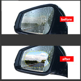 2PCS Car Rear Mirror Protective Film Anti Fog Window Clear Rainproof Rear View Mirror Protective Soft Film Auto Accessories - The most popular products on Tiktok | GOWOW