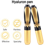 2in 1 Meso Injection Gun Hyaluron Pen 0.3ml &0.5ml Gold Hyaluronic Acid Pen Lip Filler Injector Noninvasive Nebulizer Skin Care - The most popular products on Tiktok | GOWOW