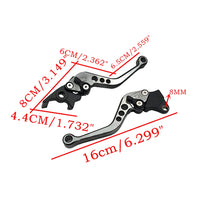 2pcs Alloy Motorcycle Brake Handle CNC Motorcycle Clutch Brake Lever Handle High Quality Fit for Motorbike Modification - The most popular products on Tiktok | GOWOW