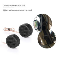 2pcs Hot Sale Mini Speaker Universal High Frequency Car Tweeter Loud Speaker Super Power Audio Auto Sound Loudspeaker Black - The most popular products on Tiktok | GOWOW