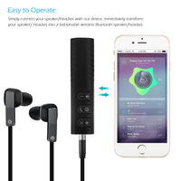 3.5mm jack Bluetooth Car Kit Hands free Music Audio Receiver Adapter Auto AUX  Kit for Speaker Headphone Bluetooth Aux - The most popular products on Tiktok | GOWOW