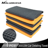 300GSM Car Wash Car Detailing Microfiber Towel Car Cleaning Cloths  Waffle Weave for Kitchen Rag for Cars Glass Kitchen Bath - The most popular products on Tiktok | GOWOW