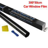 300x50cm VLT Car Home Window Glass Tint Tinting Film Roll With Scraper For Car Side Window Blocking Control Anti UV Window - The most popular products on Tiktok | GOWOW