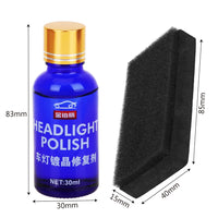 30ML Car Headlight Repair Coating Solution Repair Kit Oxidation Rearview Coating Headlight Polishing Anti-scratch Liquid - The most popular products on Tiktok | GOWOW