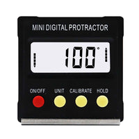 360 Degree Mini Digital Protractor Inclinometer Electronic Level Box Magnetic Base Measuring Tools - The most popular products on Tiktok | GOWOW