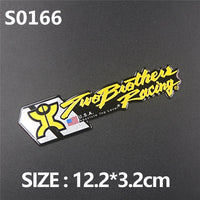 3D Aluminum Heat-resistant Motorcycle Exhaust Pipe Decal Sticker For Scorpio Yoshimura Akrapovic MIVV Leovince Two Brother Arrow - The most popular products on Tiktok | GOWOW