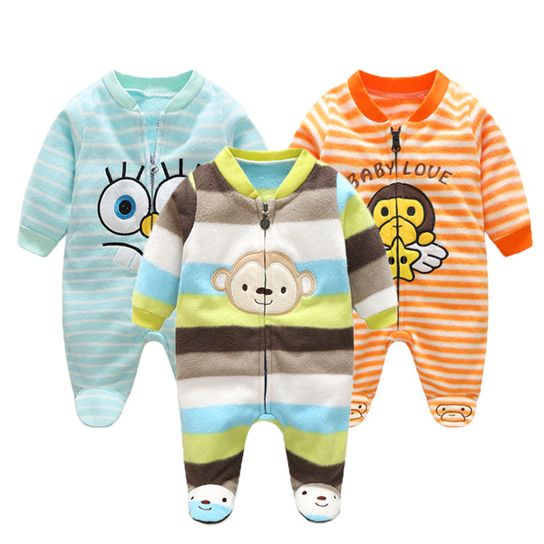 3M-12M Infant Footies Newborn Baby Boys Girls Winter Clothes Colorful 100% Cotton Character Clothing Unisex Autumn Jumpsuits - The most popular products on Tiktok | GOWOW
