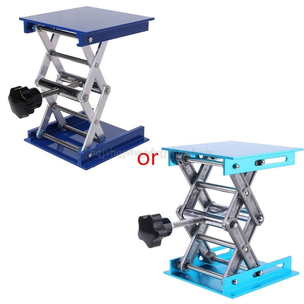 "4""x4"" Aluminum Router Lift Table Woodworking Engraving Lab Lifting Stand Rack lift platform - The most popular products on Tiktok 