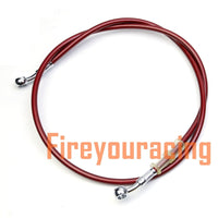400mm - 2200mm Motorcycle Hydraulic Brake Hose Line Cable 10mm Banjo for Suzuki Kawasaki Yamaha honda Pipe Line Braided oil hose - The most popular products on Tiktok | GOWOW