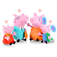 4Pcs/set Peppa Pig George Stuffed Plush Toy 19/30cm Peppa Pig Family Party Dolls Christmas New Year Gift For Girl Original Bran - The most popular products on Tiktok | GOWOW