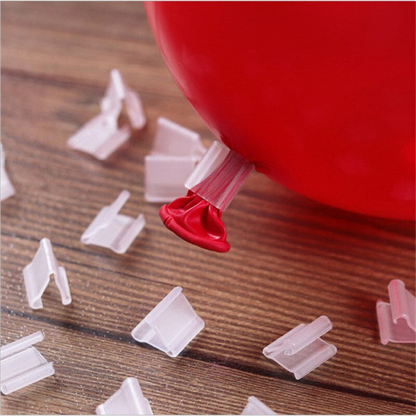 "50PCS/Lot Kids Toys Party Hat Accessory Useful ""V"" Shape Clip Balloons Sealing Buttons Wedding/Birthday/Christmas Party Toys - The most popular products on Tiktok 