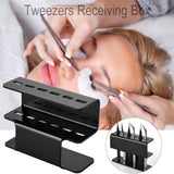 6 Holes Eyelash Tweezers Storage Rack Eyelash Lash Extension Tools Organizer Holder Stand Nail Tattoo Beauty Tools Shelf - The most popular products on Tiktok | GOWOW