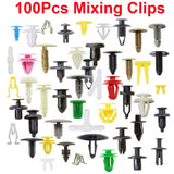 6 Size 100pcs Auto Fastener Clip Mixed Car Body Push Retainer Pin Rivet Bumper Door Trim Panel Retainer Fastener Kit - The most popular products on Tiktok | GOWOW