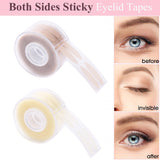 600Pcs/box Big Eyes Make Up Eyelid Sticker Double Fold Self Adhesive Eyelid Tape Stickers S/L Makeup Clear Beige Invisible Tool - The most popular products on Tiktok | GOWOW