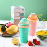 TIKTOK diy Smoothie cup pinch into ice cup children's summer smoothie cup ice cup double layer - The most popular products on Tiktok | GOWOW