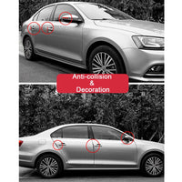 6pcs Auto Car Door Guard Edge Corner Protector Guards Buffer Trim Molding Protection Strip Scratch Protector Car Door Crash Bar - The most popular products on Tiktok | GOWOW
