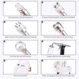 8 In 1 Hydra Dermabrasion RF BIO Light Spa Facial Machine Water Jet Hydro Diamond Peeling Microdermabrasion Beauty Device - The most popular products on Tiktok | GOWOW
