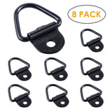8Pcs Cargo Tie-Down Anchors V-Ring Trailer Anchor Replacement for truck bed and back door freight car trailers SUV warehouses - The most popular products on Tiktok | GOWOW