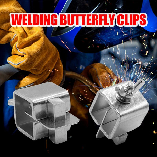 8pcs Welding Butterfly Clip Butt Welding Clamps Holder Positioner Fixture Adjustable for Welding Clamps - The most popular products on Tiktok | GOWOW