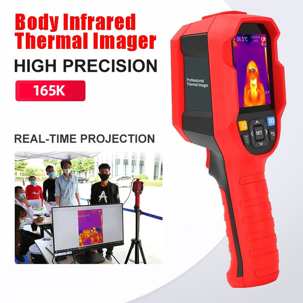 A-BF Body Infrared Thermal Imager Medical Thermometer Temperature Screening Resolution Pyrometers Thermal Camera Live Display - The most popular products on Tiktok | GOWOW