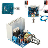 AC/DC 12V TDA7297 2*15W Digital Stereo Audio Amplifier Motorcycle Power Amplifier Board DIY Kit Dual Channel AMP Module - The most popular products on Tiktok | GOWOW