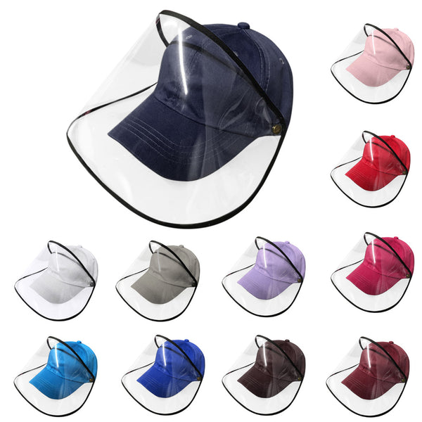Adult Anti-spitting Protective Hat Dustproof Cover Peaked Cap Hat Anti-fog Saliva Empty Top Hat Mask Cappello di protezione#20 - The most popular products on Tiktok | GOWOW