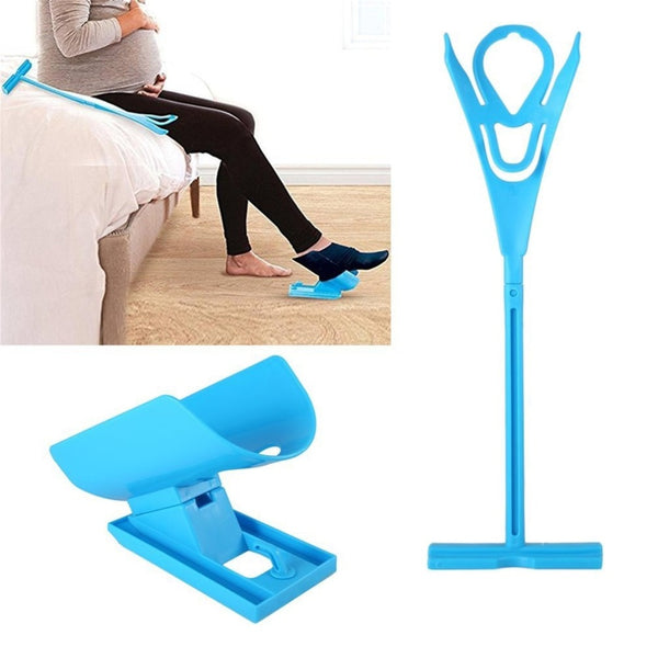 Aid Helper Easy On Easy Off Sock Aid Kit Sock Helper No Bending Stretching for Pregnancy and Injuries Living Tool - The most popular products on Tiktok | GOWOW