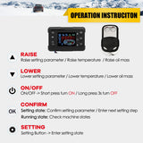 All In One Air diesels Heater 1KW-8KW Adjustable 12V One Hole Car Heater For Trucks Motor-Homes Boats Bus +LCD key Switch+Remote - The most popular products on Tiktok | GOWOW