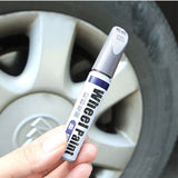 Aluminum alloy wheel hub renovation paint brush wheel hub spray paint Silver Automobile wheel hub scratch repair pen - The most popular products on Tiktok | GOWOW